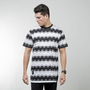 Backyard Cartel t-shirt Stripes white