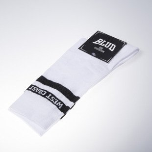 Blud socks Coast long white