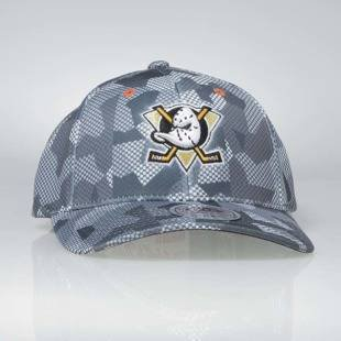 Cap Mitchell & Ness flexfit slouch Anaheim Ducks grey Carbon Camo