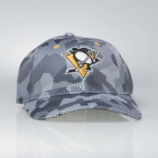 Cap Mitchell & Ness flexfit slouch Pittsburgh Penguins grey Carbon Camo