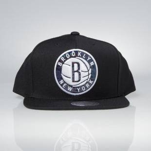 Cap Mitchell & Ness snapback Brooklyn Nets black Dark Hologram