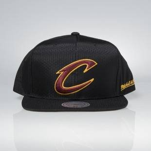 Cap Mitchell & Ness snapback Cleveland Cavaliers black Black Ripstop Honeycomb