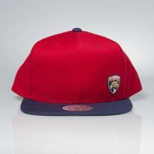 Cap Mitchell & Ness snapback Florida Panthers red Little Logo