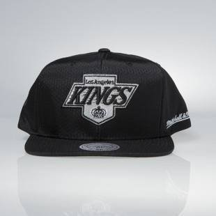 Cap Mitchell & Ness snapback Los Angeles Kings black Black Ripstop Honeycomb