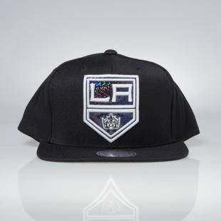 Cap Mitchell & Ness snapback Los Angeles Kings black Dark Hologram