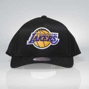 Cap Mitchell & Ness snapback Los Angeles Lakers black Team Logo High Crown Flexfit 110