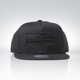 Cap Mitchell & Ness snapback M&N Own Brand black / black Box Logo