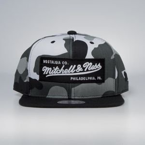 Cap Mitchell & Ness snapback M&N Own Brand urban camo / black Box Logo