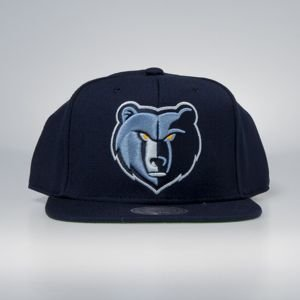 Cap Mitchell & Ness snapback Memphis Grizzlies navy Wool Solid / Solid 2