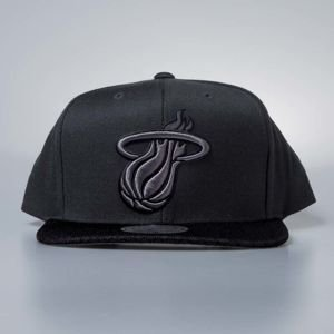 Cap Mitchell & Ness snapback Miami Heat charcoal Hologram Mesh Stop On A Dime