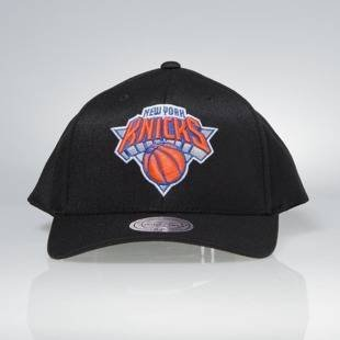 Cap Mitchell & Ness snapback New York Knicks black Team Logo High Crown Flexfit 110