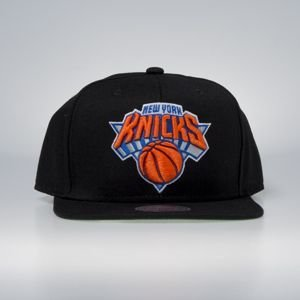 Cap Mitchell & Ness snapback New York Knicks black Wool Solid / Solid 2