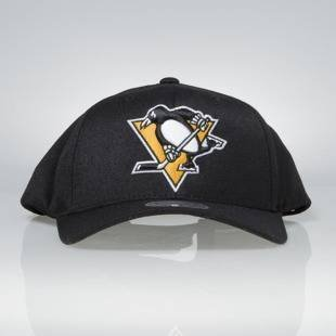 Cap Mitchell & Ness snapback Pittsburgh Penguins black Team Logo High Crown Flexfit 110