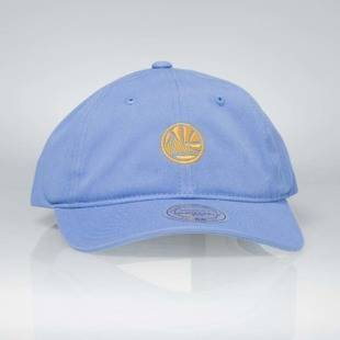 Cap Mitchell & Ness strapback Golden State Warriors blue Chukker