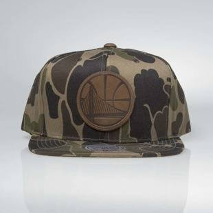 Cap Mitchell & Ness strapback Golden State Warriors camo Lux Camo