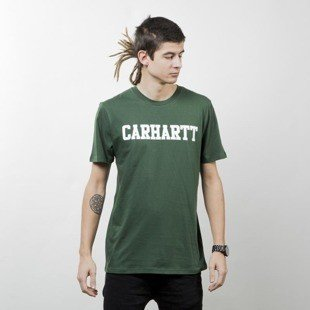 Carhartt WIP College T-Shirt fir / white