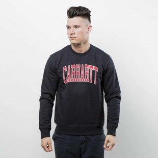 Carhartt WIP Crewneck Division Sweat dark navy