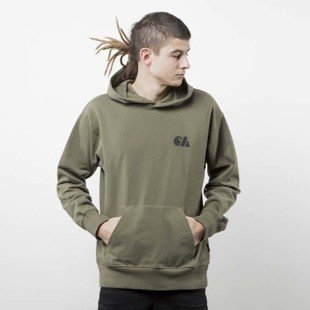 Carhartt WIP Hooded Military Training rover green / black