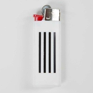 Carhartt WIP Mini Lighter W.I.P. white / black