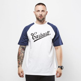 Carhartt WIP Strike T-Shirt white / blue