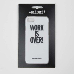 Carhartt WIP Work Is Over iPhone Hardcase white
