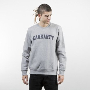 Carhartt WIP Yale Sweat grey heather / navy