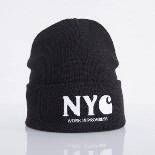 Carhartt WIP cap NYC black / white