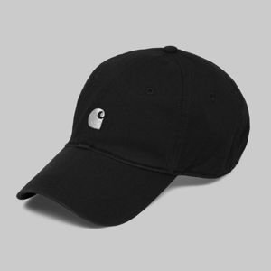 Carhartt WIP strapback Major Cap black / white