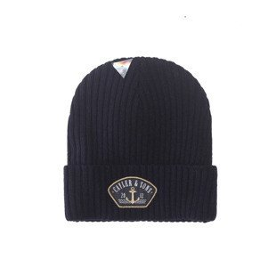 Cayler & Sons Ahoi Essential Beanie navy / gold / white CL-CAY-AW16-BN-01