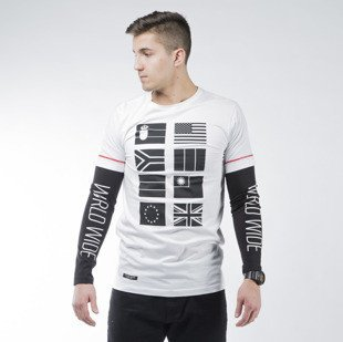 Cayler & Sons BL Worldwide Longsleeve white / black (BL-CAY-AW15-AP-13)
