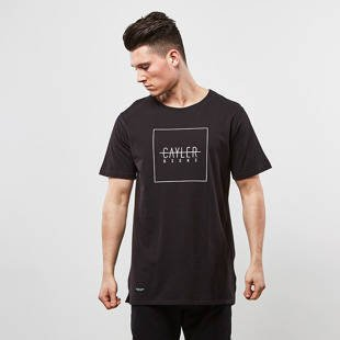 Cayler & Sons BL t-shirt C&S BL Box Fishtail Tee black