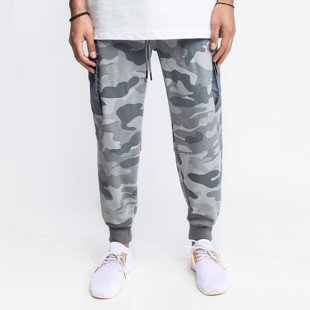 Cayler & Sons BLACK LABEL CSBL Millennivm Cargo Sweatpants stone camo / reflective grey CSBL-HD16-AP-17