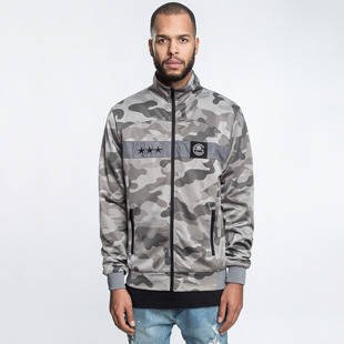 Cayler & Sons BLACK LABEL CSBL Millennivm Track Jacket stone camo / black / white CSBL-HD16-AP-02