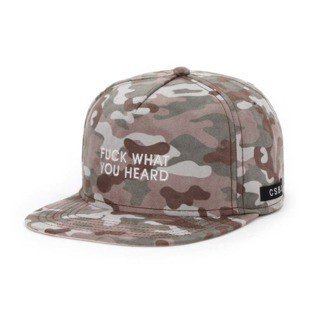 Cayler & Sons BLACK LABEL snapback CSBL What You Heard Cap multicolor