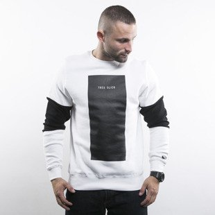 Cayler & Sons BLACK LABEL sweatshirt Tres Slick Crewneck white / black BL-CAY-AW15-AP-11-02