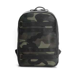 Cayler & Sons Black Label Judgement Day Backpack black / woodland / olive BL-CAY-AW16-BP-03