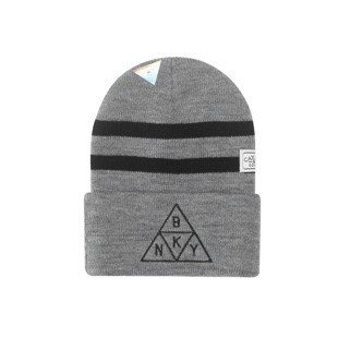 Cayler & Sons Briangle Old School Beanie grey heather / black WL-CAY-AW16-BN-05-01