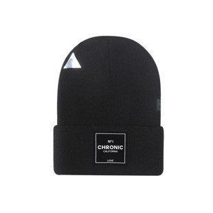 Cayler & Sons Cali Love Old School Beanie black / white GL-CAY-AW16-BN-08
