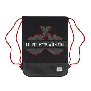 Cayler & Sons Don't Fuck Gymbag black / orange / grey WL-CAY-SU16-GB-06