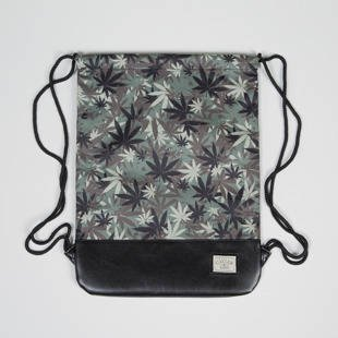 Cayler & Sons Erbz Gym Bag woodland hemp / black CAY-SS15MU-GB-13