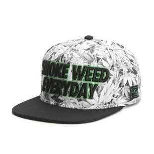 Cayler & Sons Green Label snapback Everyday Cap white kush / black / green (GL-CAY-SS16-20)