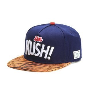 Cayler & Sons Green Label snapback Killa Kush Cap deep navy / mc (GL-CAY-SS16-09)