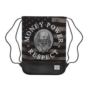 Cayler & Sons Money Power Respect Gymbag black / gold / white WL-CAY-AW16-GB-03