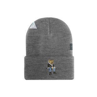Cayler & Sons WL CHMPGN DRMS Old School Beanie heather grey / mc WL-CAY-HD16-BN-01
