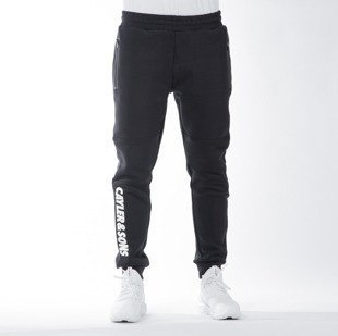 Cayler & Sons WL Cayler Sweatpants black / white (WL-CAY-SS16-AP-44)