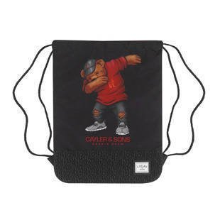 Cayler & Sons WL Dabbin Crew Gymbag black / red / mc WL-CAY-HD16-GB-01