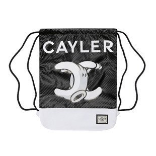 Cayler & Sons White Label No.1 Gymbag forrest black / white (WL-CAY-SS16-GB-14)