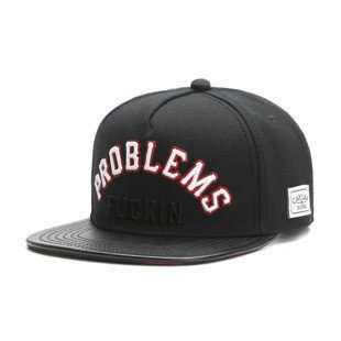 Cayler & Sons White Label snapback Problems Cap black / orange WL-CAY-SU16-10