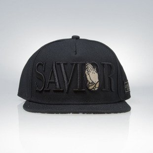 Cayler & Sons White Label snapback Savior Cap black / gold WL-CAY-SU16-02