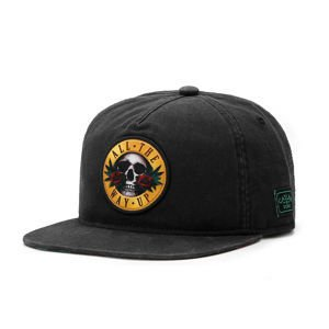 Cayler & Sons cap White Label Budz N' Skullz Old Cap black